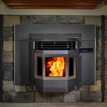 ComfortBilt HP22I-SS Pellet Stove Insert With Fire Featured Image